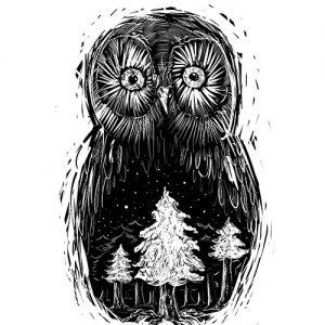 Lowearth kolekcia sova lesná